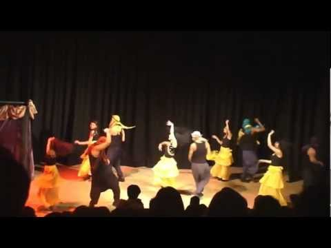 SGUL Diwali show (Aladdin) 2012 – Zoya's Arab Dance!