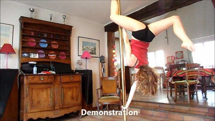 Pole Dance Tutorial – Butterfly – Intermédiaire