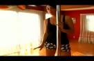 Hip Dip Open Leg Pole Dancing Exercise