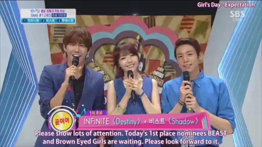 Girl's Day Minah – MC cut 2013-08-04 SBS Inkigayo [subt] 1080