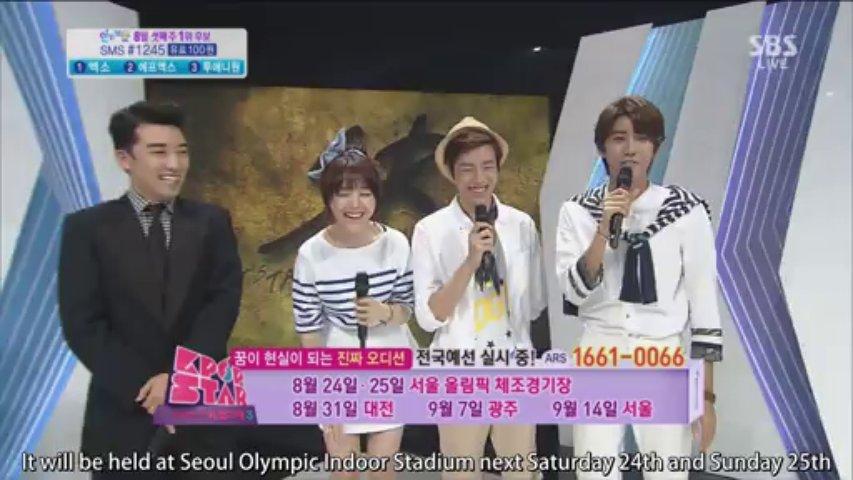 Girl's Day Minah – MC Cuts 2013-08-18 SBS Inkigayo [subt] 1080