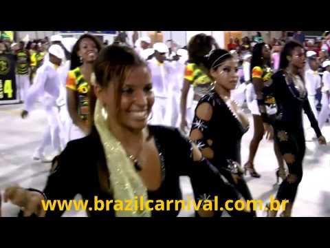 Insider's Footage: Samba Dancer Wing Rio Carnival 2013: Brazil Dancing Pure Energy