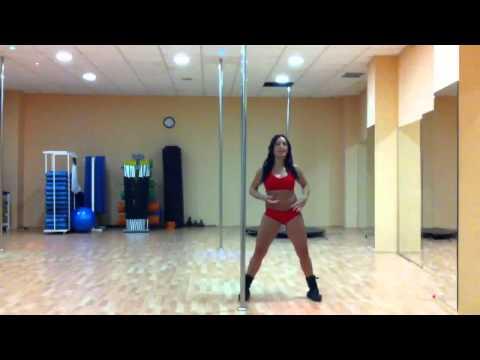 Pole dance (Baile con barra) Mover articulaciones para calentar TUTORIAL CON BETTY YEIN