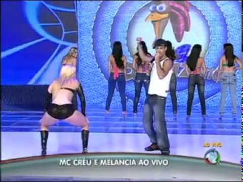 programa do gugu Melancia reencontra Mc Créu e dança o hit que a tornou sucesso no Brasil   YouTube