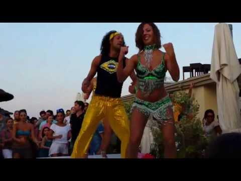 Danza du Creu , animazione Nil do Brasil al Coco Loco (RA)
