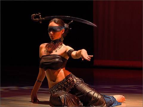 "Irina Akulenko – ""Justice"" from ""Tarot – Fantasy Bellydance"" DVD – WorldDanceNewYork.com"
