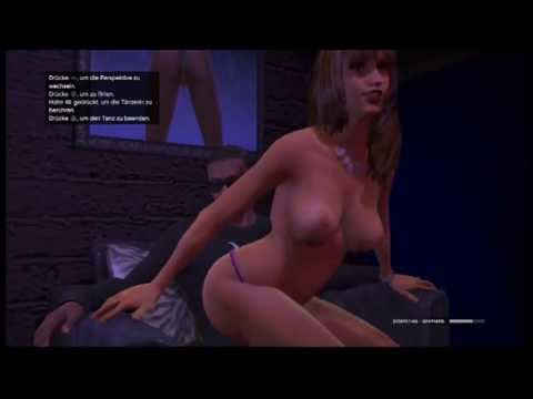 Grand Theft Auto 5 test Girls club prostitute Premium Lounge sexy dance HD