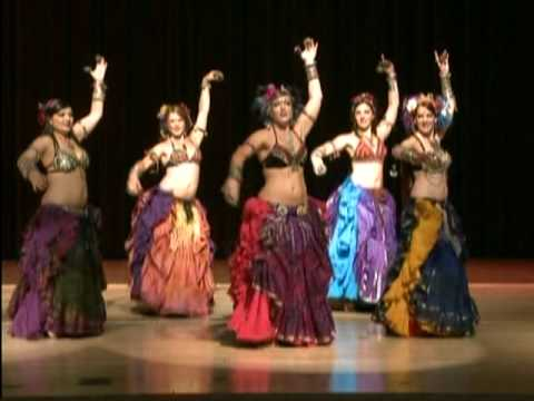 Tribal Style Belly Dance – WildCard BellyDance at Carnival of Stars