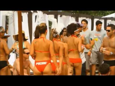 Erotic party, Brazil, Dance