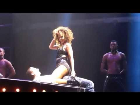 Rihanna Gives Fan A Lap Dance On Stage