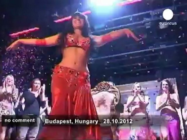 Miss Belly Dance Hungary competition – no comment