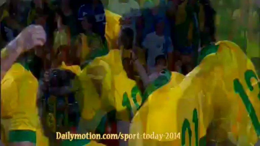 Goal Bernard Honduras 0-1 Brazil (17-11-2013) Highlights
