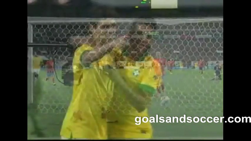 South Korea 0-2 Brazil Highlights goalsandsoccer.com