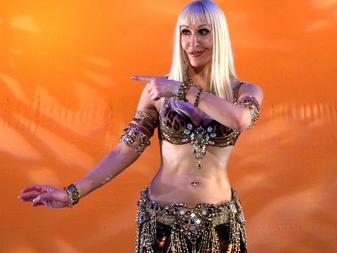 Belly Dance How to: Undulation / Body Wave / Camel Move – Belly Dancing – with Neon