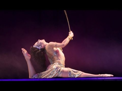 Amira Abdi BELLY DANCE with sword & DRUM SOLO