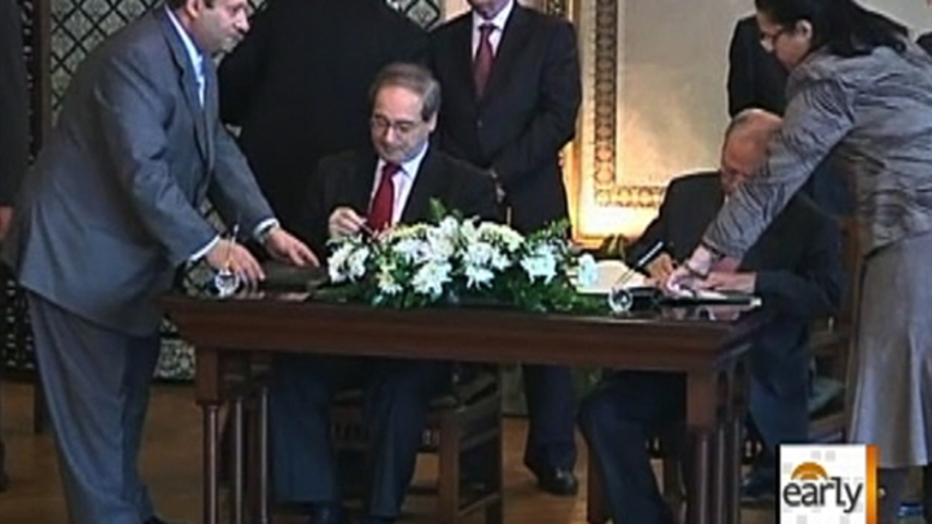 Syria agrees to Arab League deal for observers