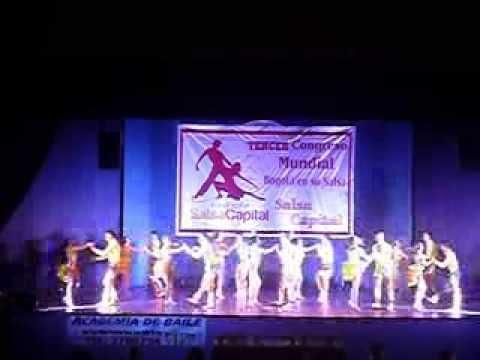 Final Esfera Latina Dance Company III Congreso Mundial Bogotá en su Salsa