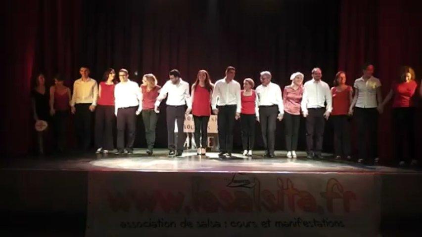 3ème Gala de La Salsita – Débutants salsa portoricaine – So You Think You Can Dance