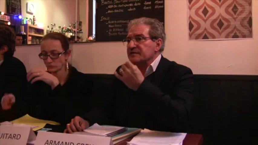 Intervention d'Armand Creus : lancement de campagne Lyon Front de Gauche + GRAM