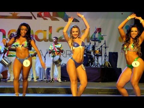 Brazil Models from Rio Carnival: Live Samba Dancing Contest