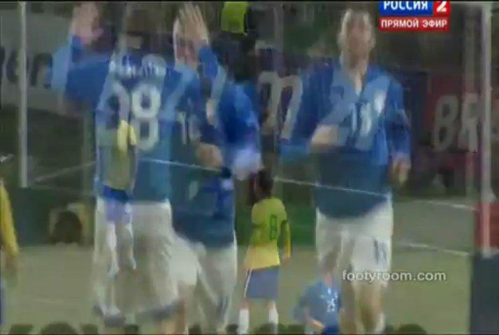 Brazil 2-2 Italy footyroom.com