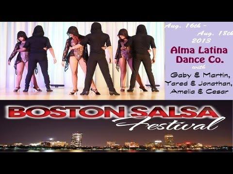Alma Latina Dance Co.   Boston Salsa Festival 2013   Bachata Performance (Sat)