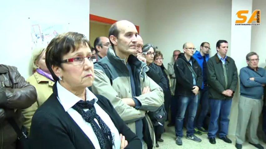 211113 Parlaments acte cessió local Creu Roja a Sant Andreu de la Barca
