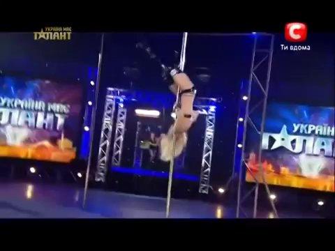 Ukraine Got Talent – The world's best pole dancer – Anastasia Sokolova