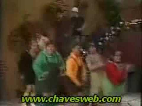 Chaves dança do créu