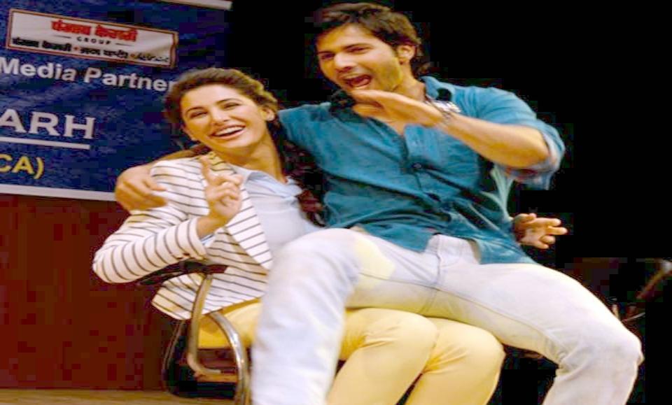 Nargis Fakhri And Varun Dhawan Lap Dance Video