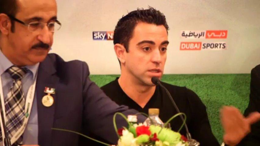 Xavi valora los años de Guardiola