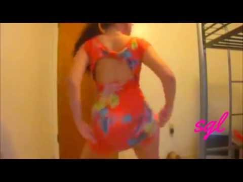 [SGL][HD]Hot latina with sexy body dance-Gostosa rebolando só de vestidinho gostosa