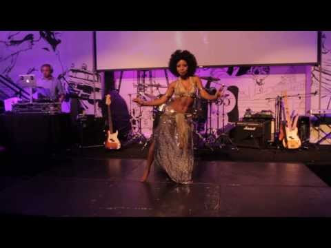 Dubstep Tribal Fusion Belly Dance – Ebony Qualls – Washington DC – Paradise Circus – Massive Attack