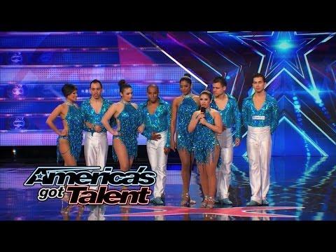Baila Conmigo: Speedy Columbian Salsa Dancers Shake Their Stuff – America's Got Talent 2014