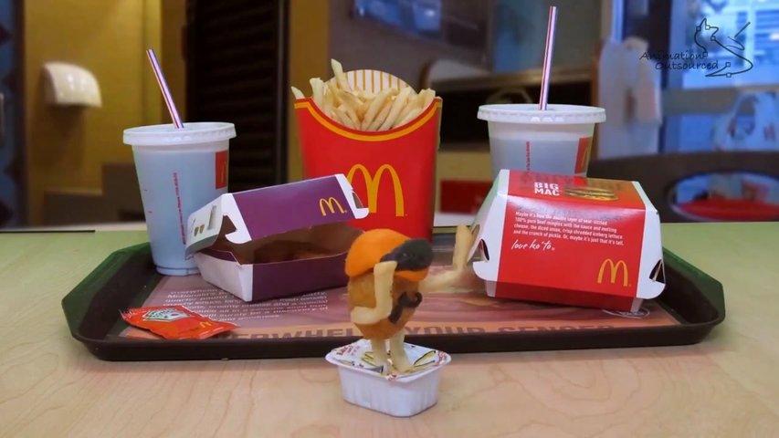 Harlem Shake Menu McDonalds