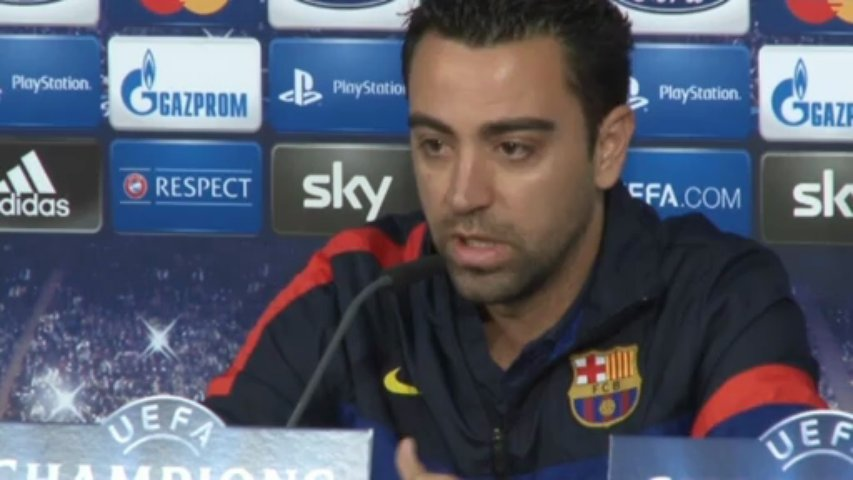 """Xavi: """"No vamos de víctimas, la eliminatoria está al 50%"""""""
