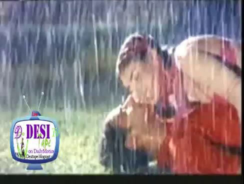 Nirma Wet boobs Mujra in rain