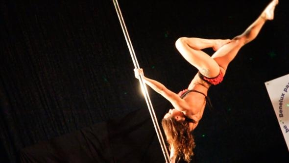 Sexy and sporty: The Benelux pole dancing championships