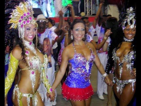 Brazil Dance Culture at Rio Carnival: Samba Dancing Girls