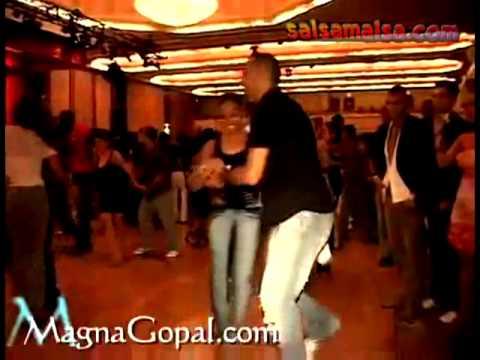 Magna Gopal & Oscar  * Amazing Salsa Dance