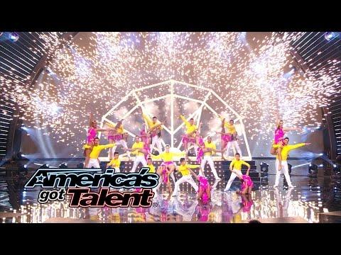 Baila Conmigo: Salsa Dance Troupe Inspires the Crowd – America's Got Talent 2014