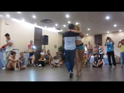 AFRO LATINA SEVILLA DANCE 2014: Ronald @ Carol, kizomba workshop