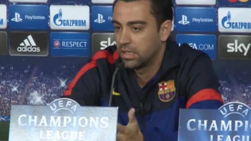 Xavi reconoce que necesitan al mejor Messi