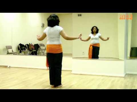 Beginner Belly Dance Moves – Vertical Figure 8