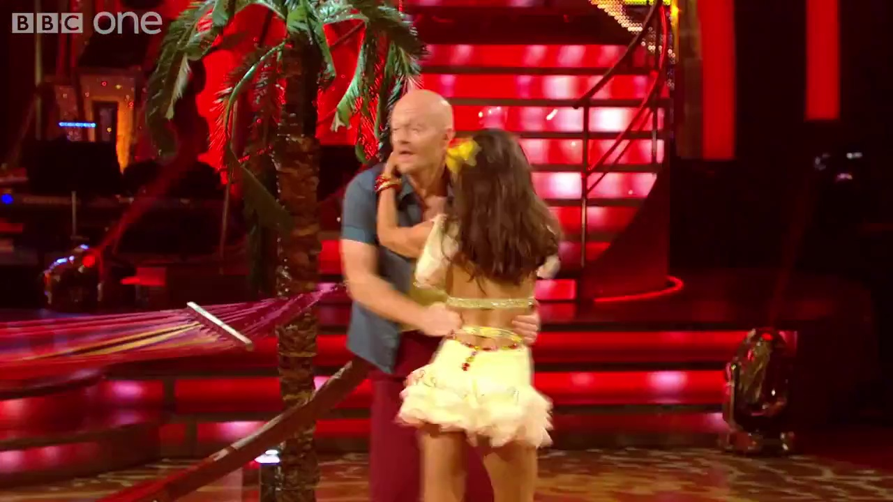 Jake Wood & Janette Manrara Salsa to 'Mambo No5' – Strictly Come Dancing- 2014 – BBC One
