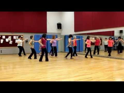 Bomba Latina – Line Dance (Dance & Teach in English & 中文)
