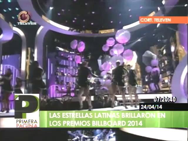 Lista de ganadores de los Premios Billboard de la Música Latina 2014