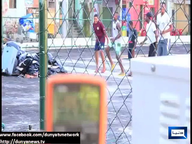 Dunya News – Futuristic soccer field in Brazilian slum gets electricity from players' movements