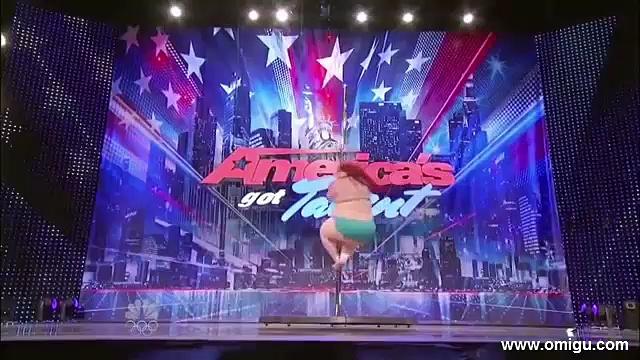 The Fat Pole Dancer on America's Got Talent