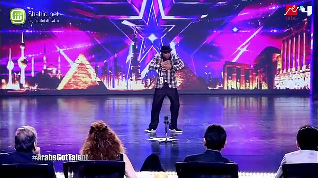 Salah  Break Dance – Arabs Got Talent 2015